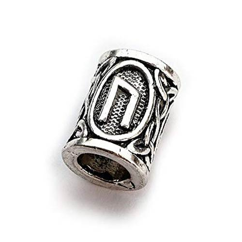 Viking Beard Beads Uruz Rune Norse Futhark Beard Rings