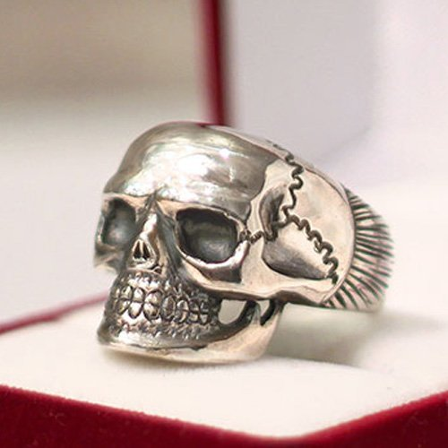 Biker Ring Motorcycle Ring - Men's Biker Skull Ring