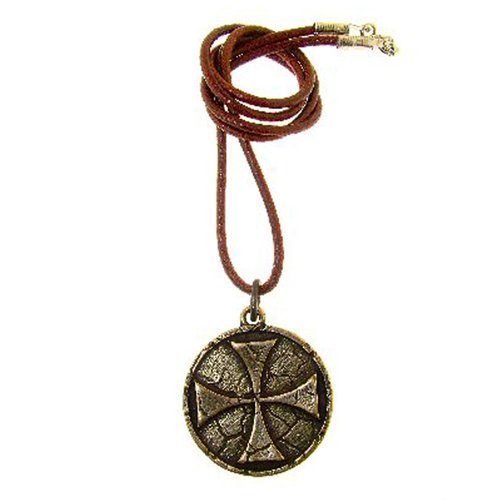 Celtic Cross Pendant Norse Necklace