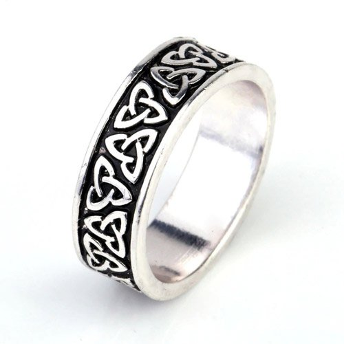 Trinity Knot Ring Celtic Knot Irish Wedding Ring