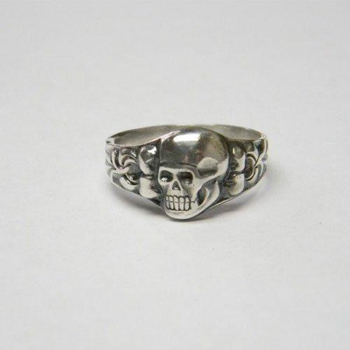 Death Head Ring Skull and Crossbones German Ring