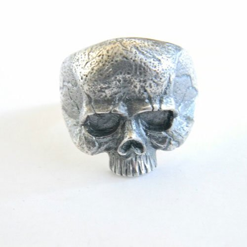 German Skull Ring Vintage