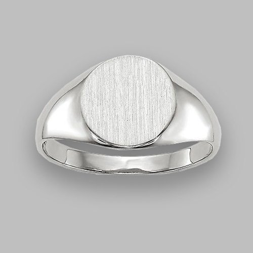 Monogram Ring - Custom Initial Letter Ring Oval The Classical
