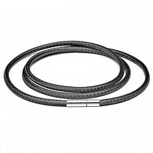 Eco Leather Cord for Pendant 3mm Steel Rotary Buckle - Different lengths