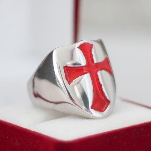 Knights Templar Ring Templar Cross Ring