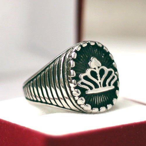 Knights Templar Ring Templar Crown Ring