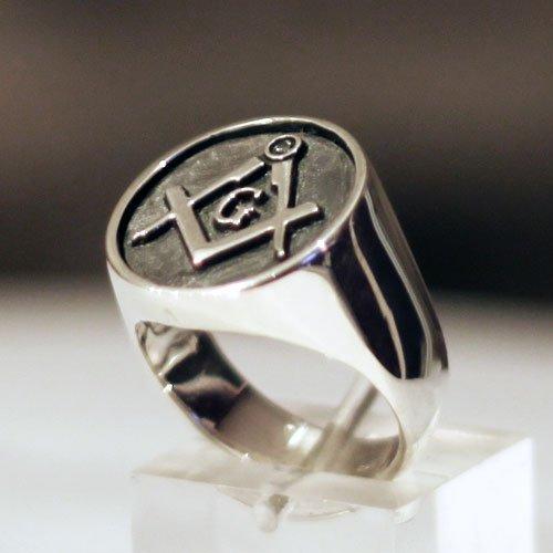 Masonic Ring Blue Lodge Masonic Ring Classic Freemason Ring