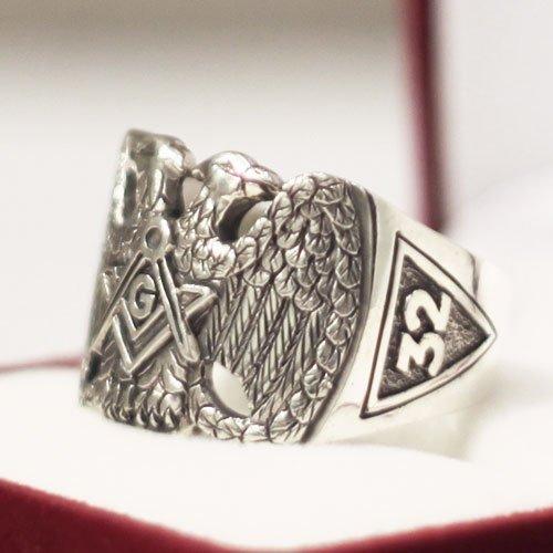 Scottish Rite Ring 32nd Degree Freemason Masonic Ring