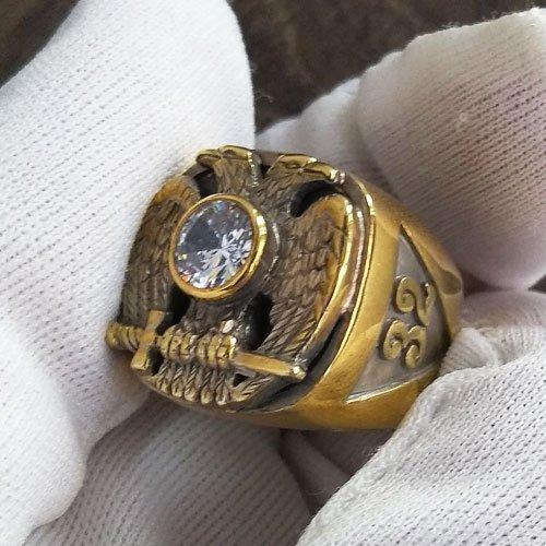 Scottish Rite Ring 32nd Degree Masonic Ring