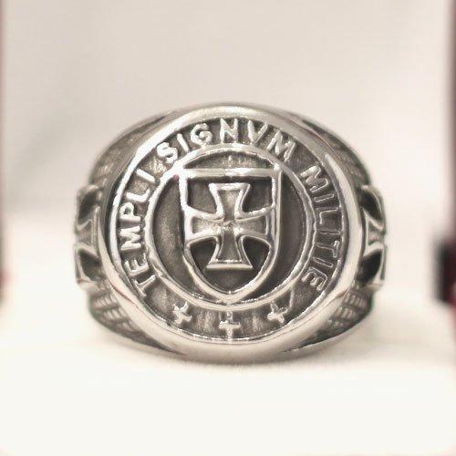 Templi Signvm Militie Ring Knights Templar Masonic Ring