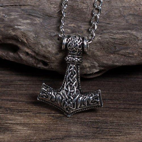 Thors Hammer Mjolnir Pendant Norse Hammer