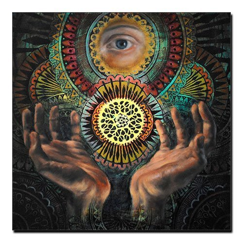 The Eye of Providence Canvas Print All-seeing eye of God