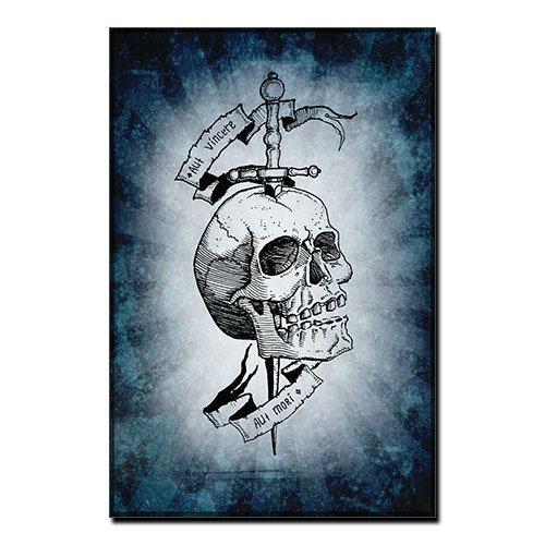 To conquer or die Canvas Print - Aut Vincere Aut Mori