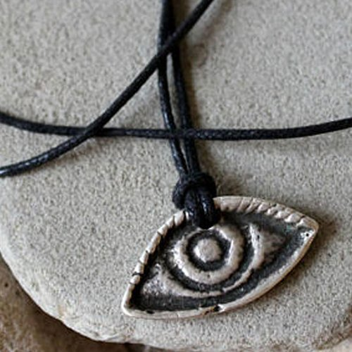 Evil Eye Pendant Charm Third Eye Protection Amulet