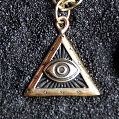 Third Eye Pendant Wiccan Evil Eye Charm