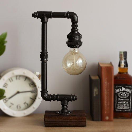 Steampunk Pipe Lamp Loft Pipe Lamp Vintage Edison Bulb