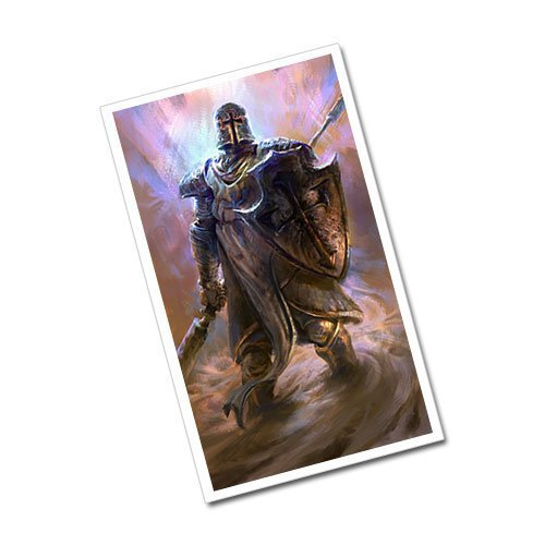 Fantasy Art Crusader Greeting Card Postcard