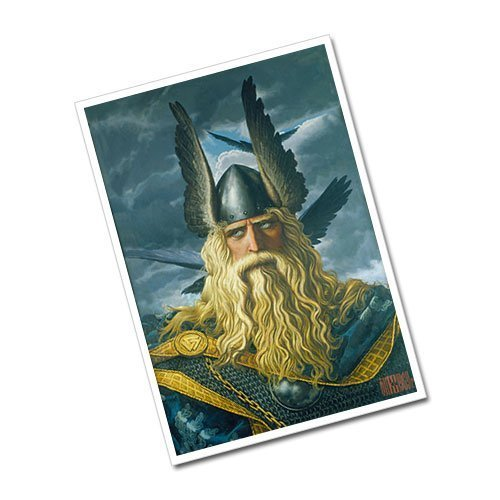Konstantin Vasiliev - Wotan The Supreme God Greeting Card Postcard