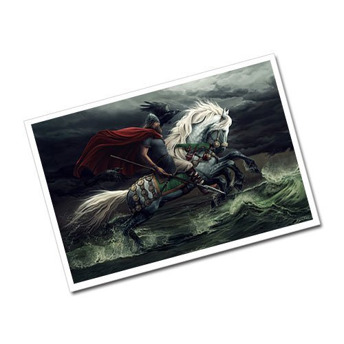 Odin - The Allfather Greeting Card Postcard