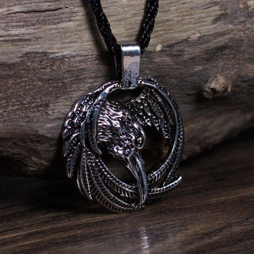 Norse Animal Pendant Viking Raven Pendant