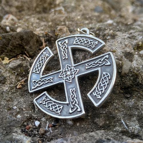 Norse Viking Swastika Broken Sun Cross