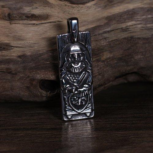 Norse Viking Warrior Pendant