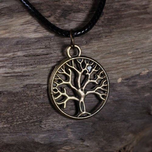 Tree of Life pendant Yggdrasil Donars Oak Pendant Sacred Tree