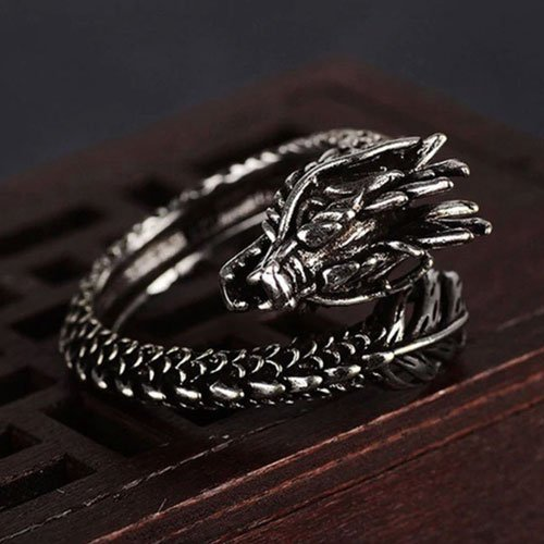 Adjustable Dragon Ring For Men and Women