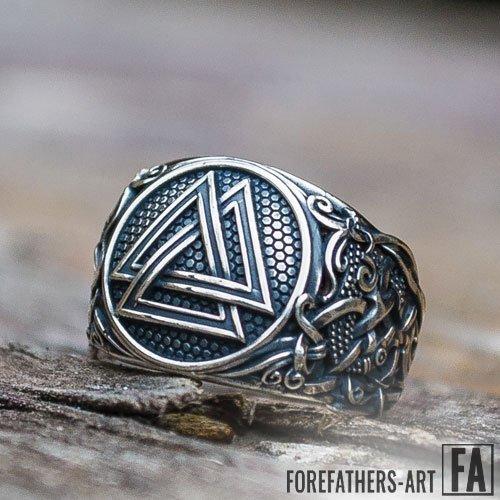 Valknut Ring Viking Norse Ring Knot of The Slain