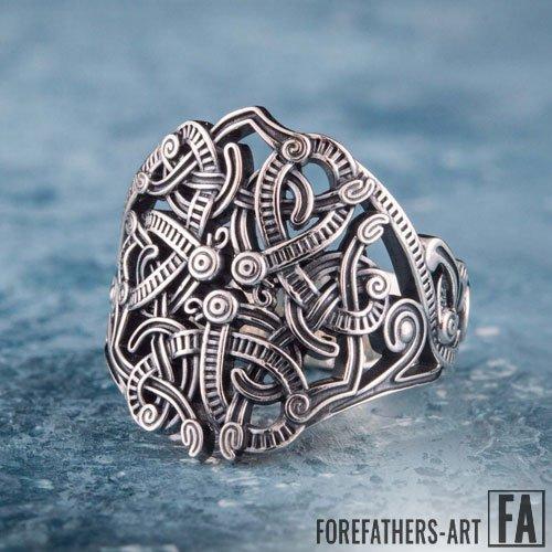 Viking Norse Ring Ancient Scandinavian Ornaments