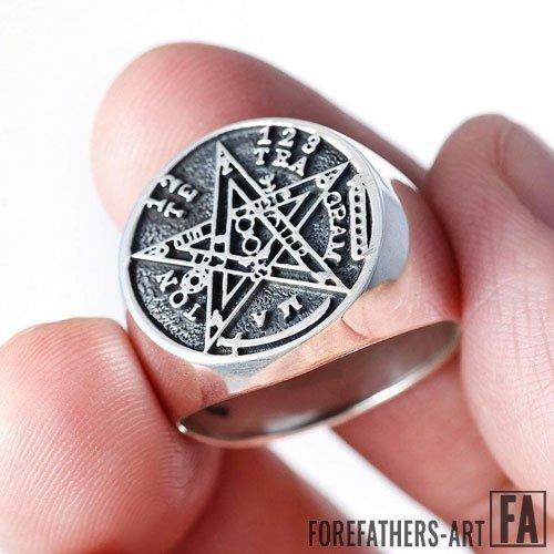 Seal of Solomon Ring Tetragrammaton Seal of Solomon