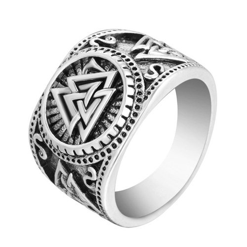Valknut Ring Norse Pagan Asatru Ring