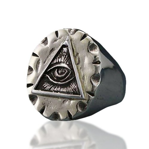Wiccan Evil Eye Ring Third Eye Ring