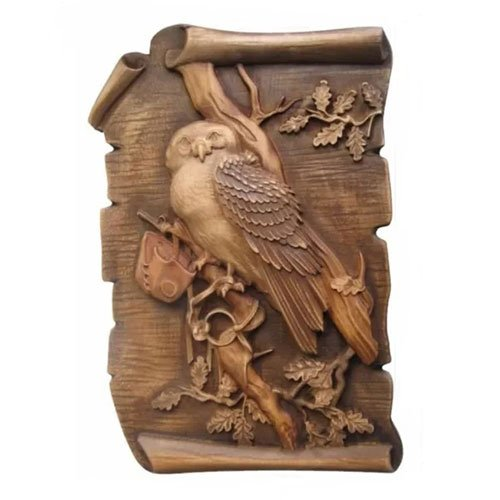 Wood Carving Own Carved Wood Plaque Home Decor