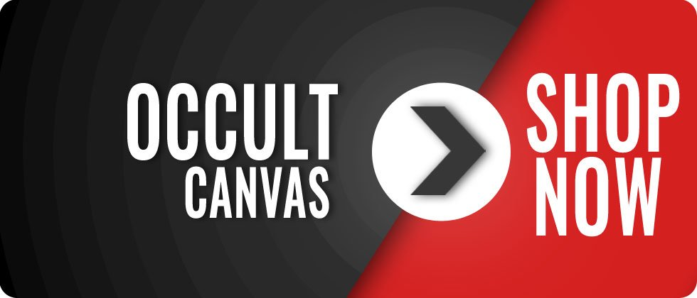 occult canvas - satanic canvas prints, wiccan canvas prints